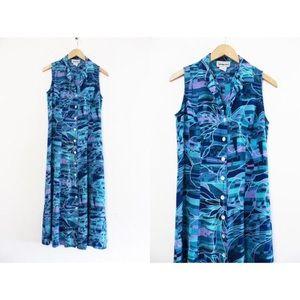 California Krush | Vintage Turquoise Dress